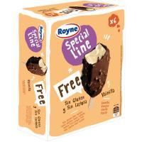 Mini bombón almendrado de vainilla s/ lactosa ROYNE, pack 6x50 g