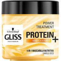 Mascarilla nutrición 4en1 protein+ GLISS, tarro 400 ml