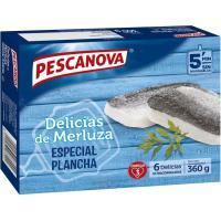 Delicias de merluza PESCANOVA, caja 360 g