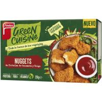 Nuggets 0% pollo GREEN CUISINE, caja 250 g