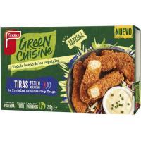 Tiras 0% pollo GREEN CUISINE, caja 210 g