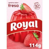 Gelatina de fresa ROYAL, caja 112 g