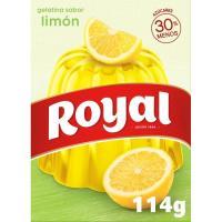 Gelatina de limón ROYAL, caja 112 g