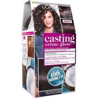 Tinte 4102 castaño oscuro helado CASTING CREME GLOSS, caja 1 ud