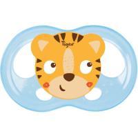 Chupete fisiológico silicona Soft-reduce irritaciones,  18 a 36 meses TIGEX, 2uds