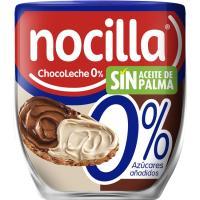 Crema de cacao 0% chocoleche duo NOCILLA, vaso 180 g
