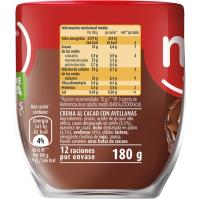 Crema de cacao 1 sabor NOCILLA, vaso 180 g