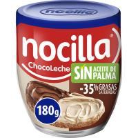 Crema de cacao 2 sabores NOCILLA, vaso 180 g