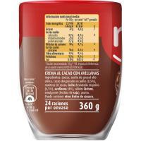 Crema de cacao 1 sabor NOCILLA, vaso 360 g