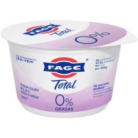 Yogur griego total 0% mg FAGE, tarrina 500 g
