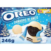 Galleta bañada de chocolate blanco OREO, caja 246 g