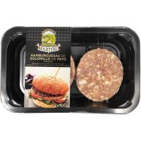 Hamburguesa de solomillo de pato MARTIKO, 2 uds., bandeja 200 g