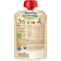 Bolsita de fresa ecológica DANONINO, doypack 90 g