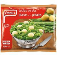 Judía verde plana con patatas FINDUS, bolsa 750 g