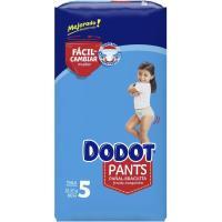 Pañal pants azul jumbo 12-17 kg Talla 5 DODOT, paquete 60 uds.