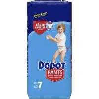 Pañal pants azul jumbo +17 kg Talla 7 DODOT, paquete 46 uds.