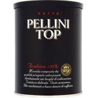 Café molido top 100% arábica PELLINI, lata 250 g