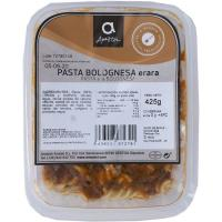 Pasta a la bolognesa AMEZTOI, bandeja 425 g