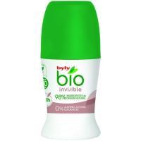 Desodorante bio invisible BYLY, roll on 50 ml