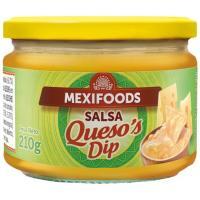 Salsa de queso MEXIFOODS, frasco 210 g