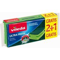 Estropajo salvamanteles antibacterias VILEDA, pack 3 uds.