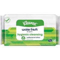 Pañuelos húmedos antibacterias KLEENEX, paquete 24 uds