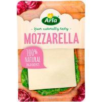 Queso Mozzarella ARLA, lonchas, bandeja 150 g
