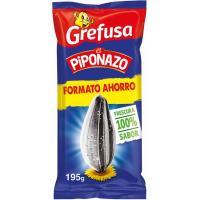 Pipas con sal original PIPONAZO, bolsa 195 g