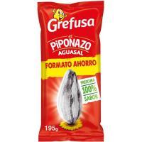 Pipas Aguasal PIPONAZO, bolsa 195g