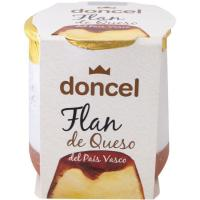 Flan de queso DONCEL, tarro de barro 125 g