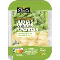 Judías verdes con patata FLORETTE, bandeja 300 g