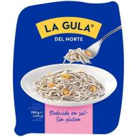 Gulas congeladas sin gluten LA GULA DEL NORTE, bandeja 190 g