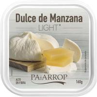 Dulce de manzana light maridaje queso PAIARROP, tarrina 160 g