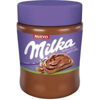 Crema de cacao con avellanas MILKA, frasco 360 g