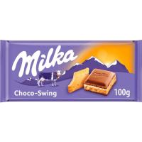 Chocolate con galleta MILKA, tableta 100 g
