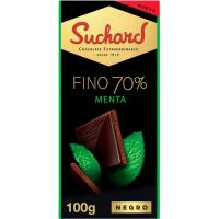 Chocolate fino 70% menta SUCHARD, tableta 100 g