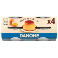 Flan de huevo DEPOSTRE, 100g X 4