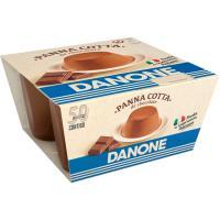 PANNA COTTA CHOCOLATE 100GR X4