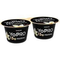 Yogur vainilla YOPRO, 160g X 2