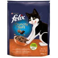 Alimento seco semi húmedo de pollo para gato FELIX, sobre 950 g