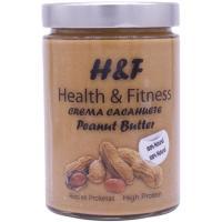 Crema de cacahuete 100% natural H&F, frasco 350 g