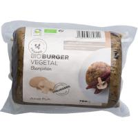 Bio burger vegetal de champiñón AHIMSA, paquete 750 g