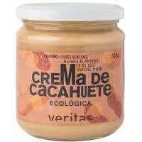 Crema de cacahuete 100% VERITAS, frasco 330 g
