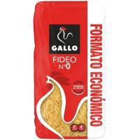 Fideo fino Nº 0 GALLO, paquete 1 kg