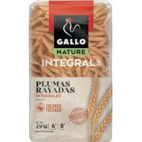 Plumas rayadas integrales GALLO, paquete 500 g