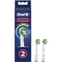Recambio cepillo eléctrico Floss Action ORAL B, pack 2 uds