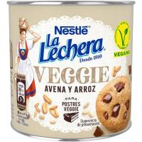 Leche condensada de avena-arroz Veggie LA LECHERA, lata 370 g