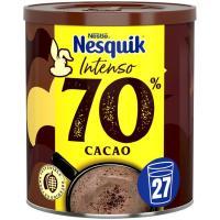 Cacao en polvo intenso 70% NESQUIK, lata 300 g