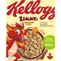 Cereales licencia Zimmy KELLOGGS, caja 330 g