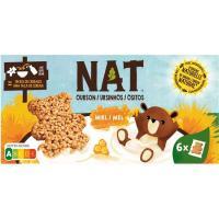 Cereales ositos con miel NAT, caja 192 g